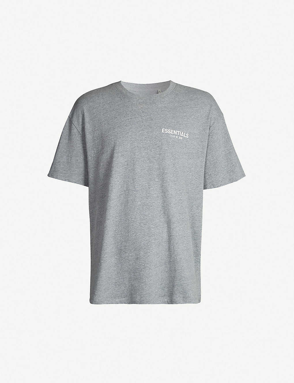 fc666437d FOG X ESSENTIALS - Logo-print cotton T-shirt | Selfridges.com