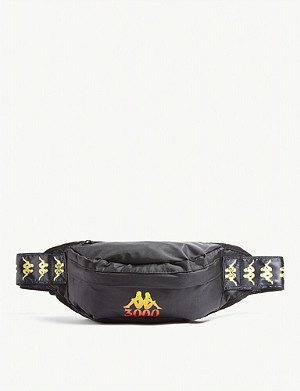 2fded98ab6a REPLAY - Rubber logo canvas bum bag | Selfridges.com
