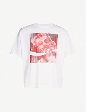 FACETASM FACETASM x Coca Cola cotton-jersey T-shirt