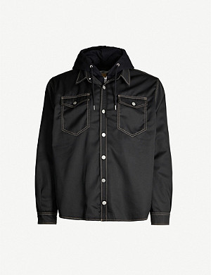 EYTYS Alpha Cali relaxed-fit stretch-twill jacket