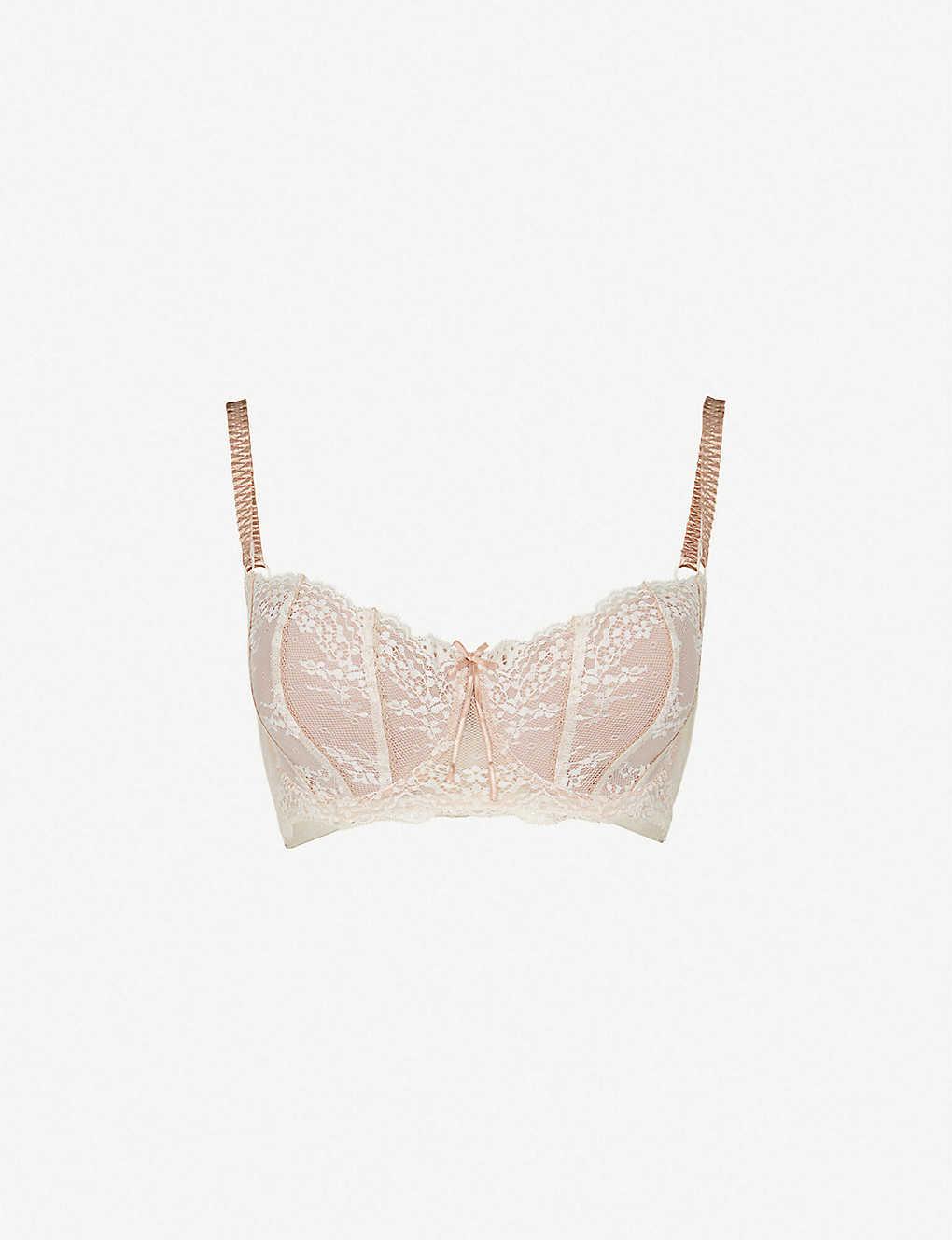 4c476b3976e9 HEIDI KLUM INTIMATES - Sofia lace contour bra | Selfridges.com