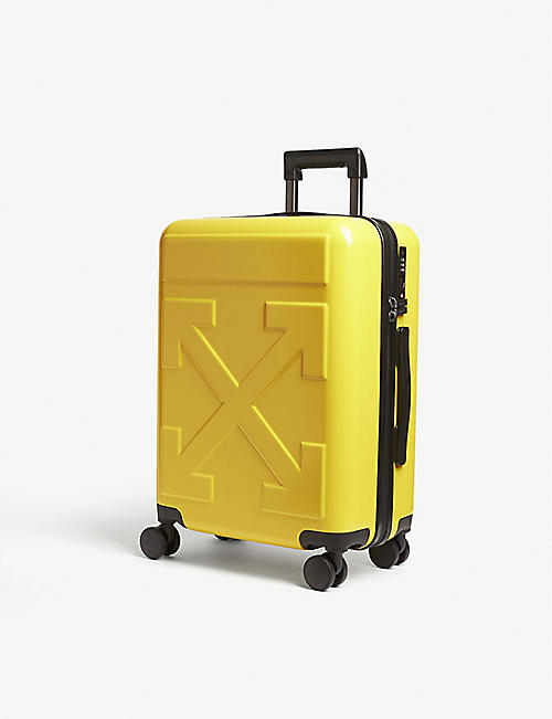 OFF-WHITE C/O VIRGIL ABLOH: Arrow logo four-wheel cabin suitcase 52cm