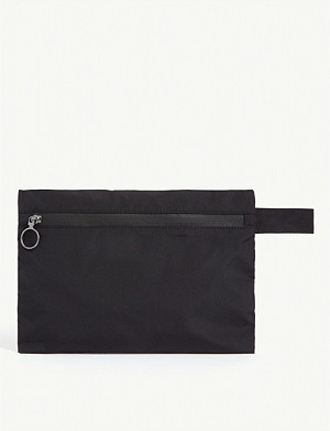 OFF-WHITE C/O VIRGIL ABLOH Quote canvas pouch