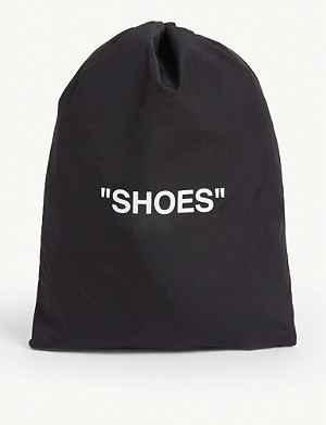 "OFF-WHITE C/O VIRGIL ABLOH ""Shoes"" nylon pouch"