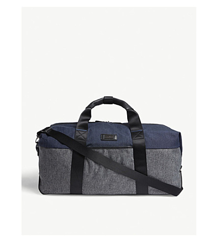 ... TED BAKER Medium Brunswick Clipper holdall (Gry-blu. PreviousNext f14577c583791