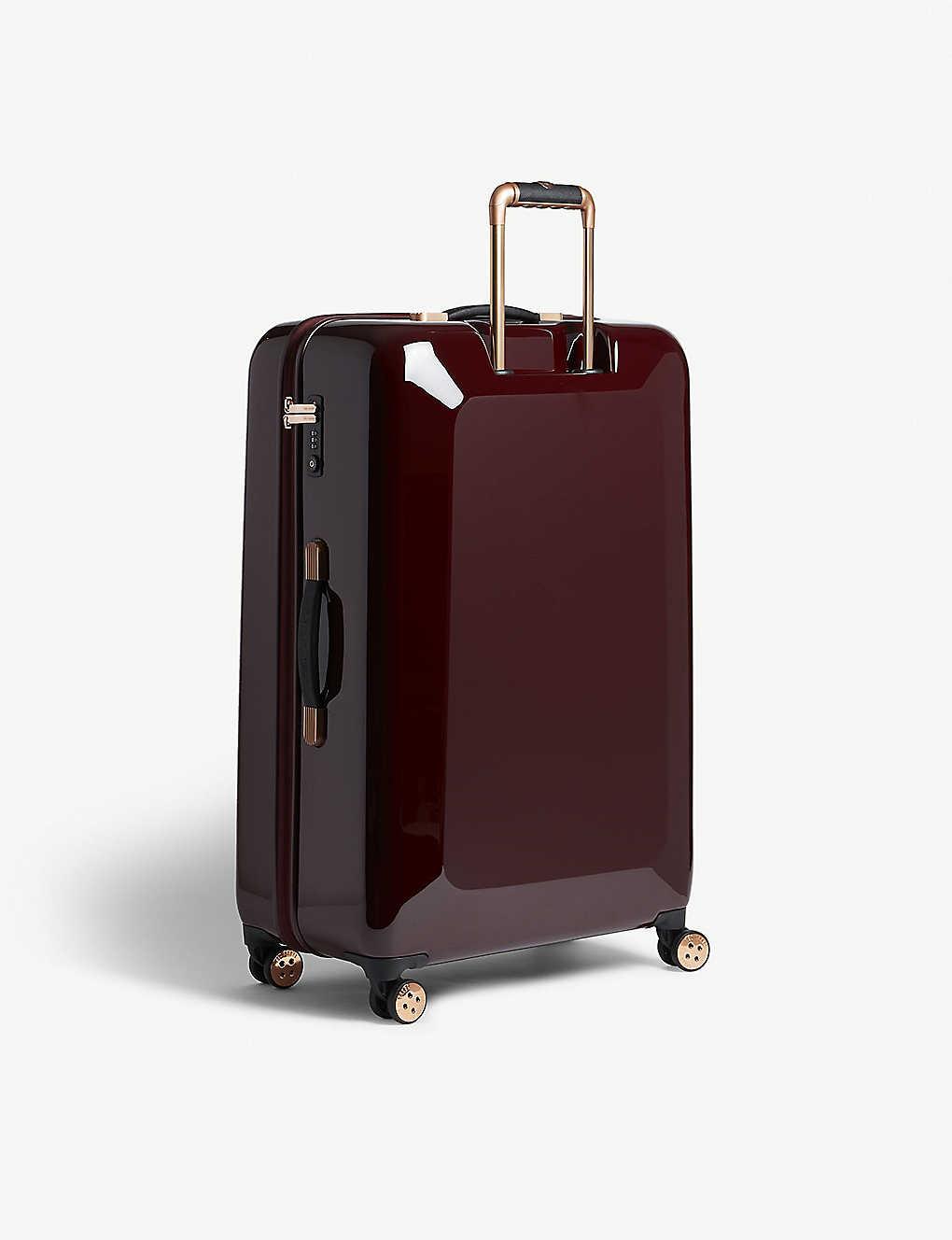 6e0ea0132ac3 TED BAKER - Take Flight Porcelain Rose large four-wheel suitcase ...