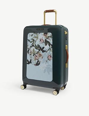 3f6af177561c TED BAKER - Iliza floral print suitcase 75l