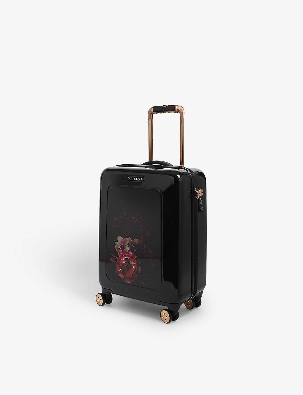 cd5879f8d73 TED BAKER - Ilouise floral print suitcase 40l | Selfridges.com