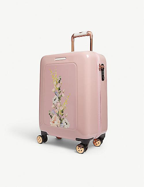 883a8cf2749b TED BAKER Ilouise floral print suitcase 40l