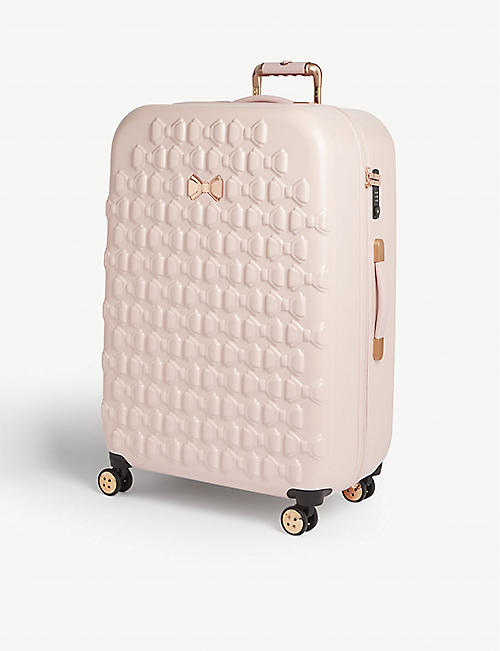 1dcf609818 TED BAKER Ellete bow-detailed medium four-wheel suitcase