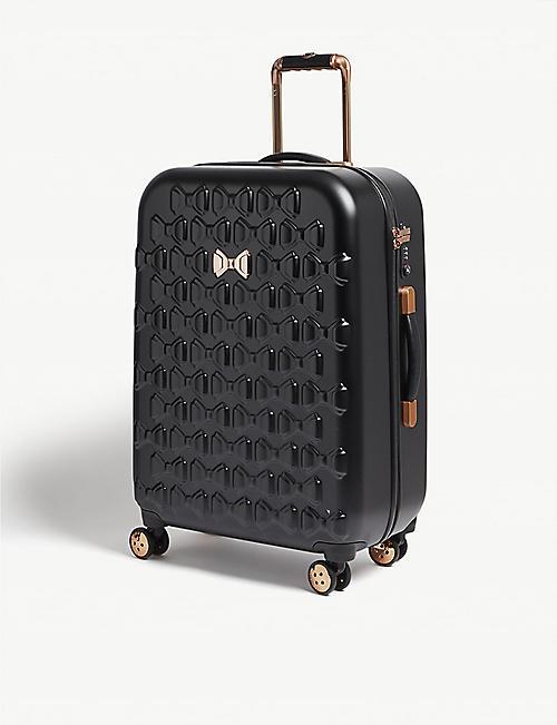 4ea3b3f5e94633 TED BAKER Beau four-wheel suitcase 69.5cm