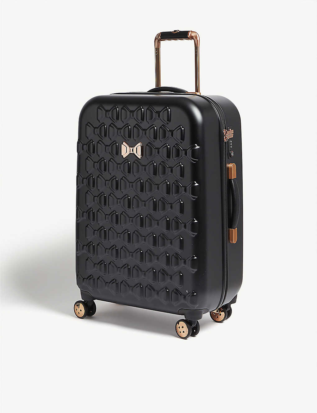 TED BAKER: Beau four-wheel suitcase 69.5cm