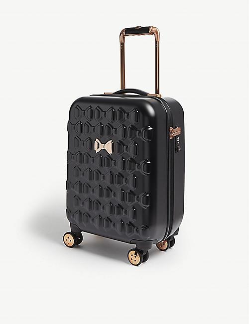 c69802edd3bd TED BAKER Beau four-wheel cabin suitcase 54cm