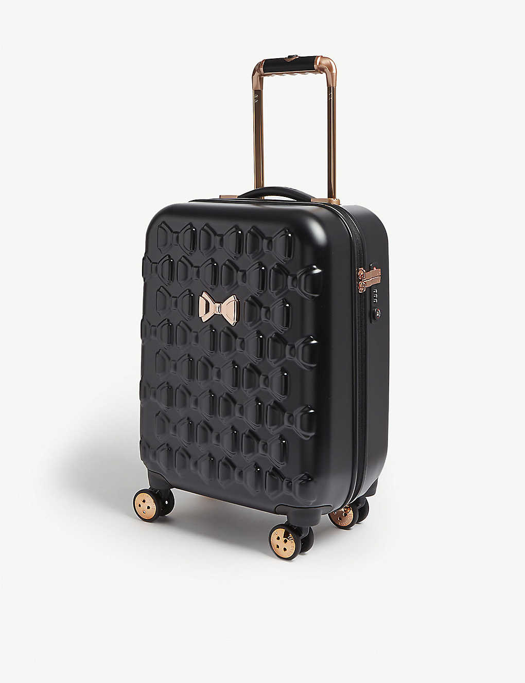 TED BAKER: Beau four-wheel cabin suitcase 54cm