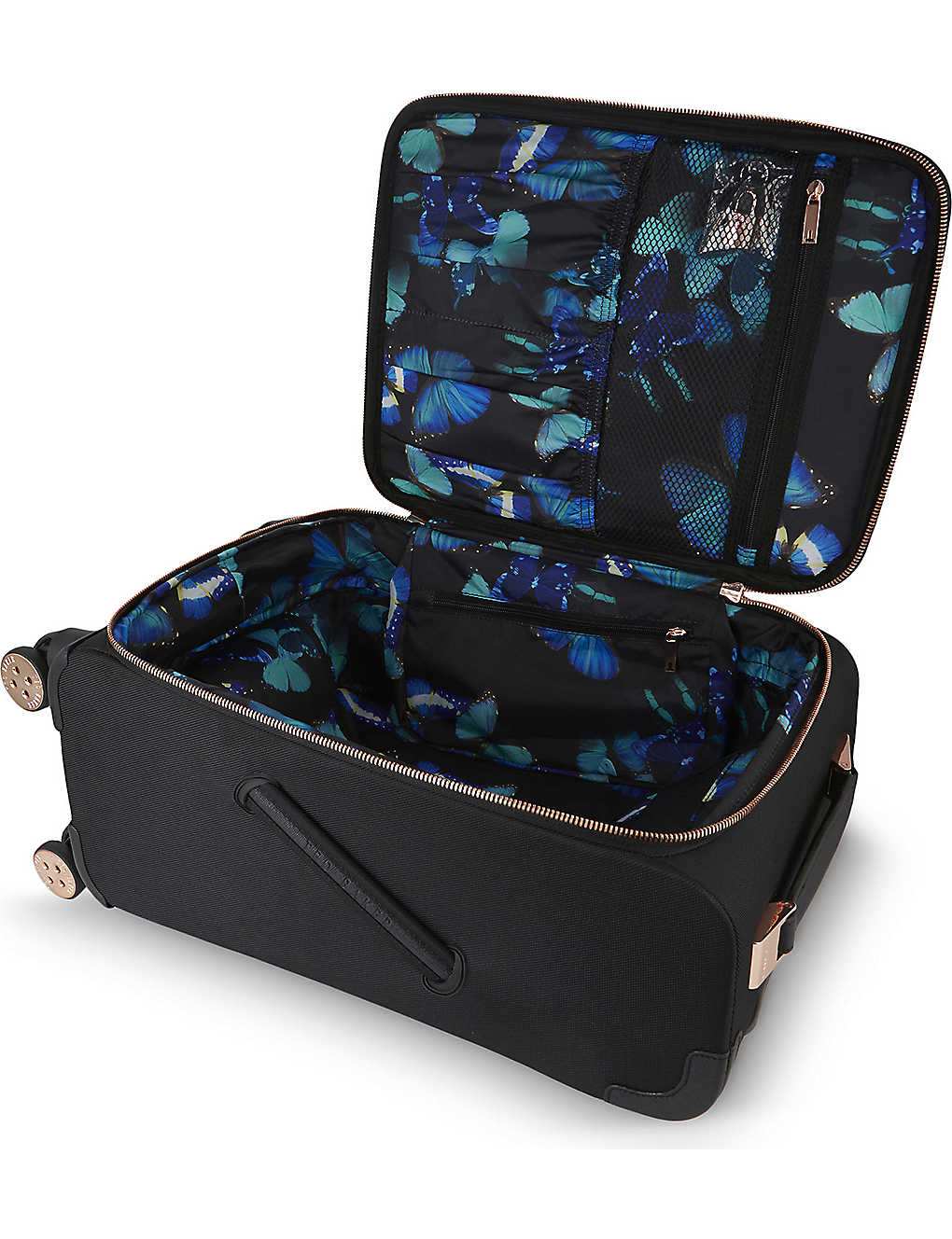 cf5f0817534c TED BAKER - Albany four-wheel cabin suitcase 55cm