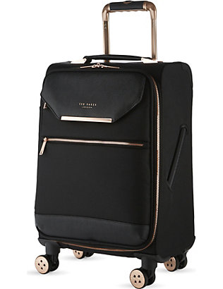 TED BAKER: Albany four-wheel cabin suitcase 55cm