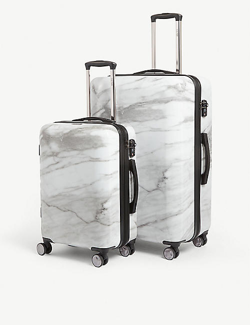 CALPAK: Astyll four-wheel suitcases set of two