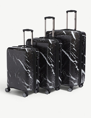 CALPAK Astyll four-wheel suitcases set of three