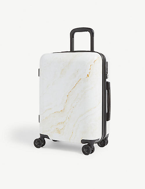 CALPAK Gold Marble four-wheel cabin suitcase 55cm