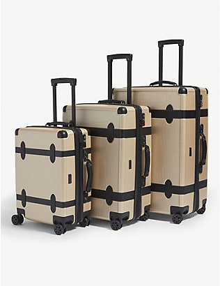CALPAK: Trnk four-wheel suitcases set of three