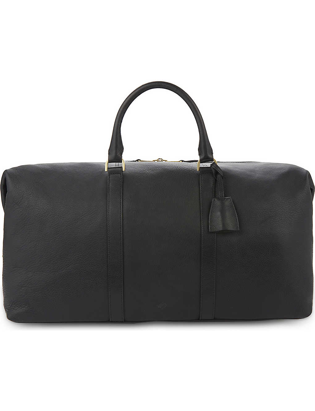 MULBERRY: Medium Clipper leather holdall