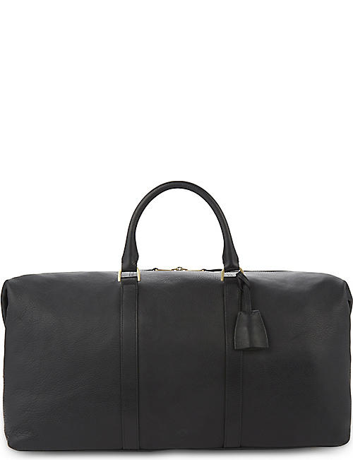 MULBERRY Medium Clipper leather holdall
