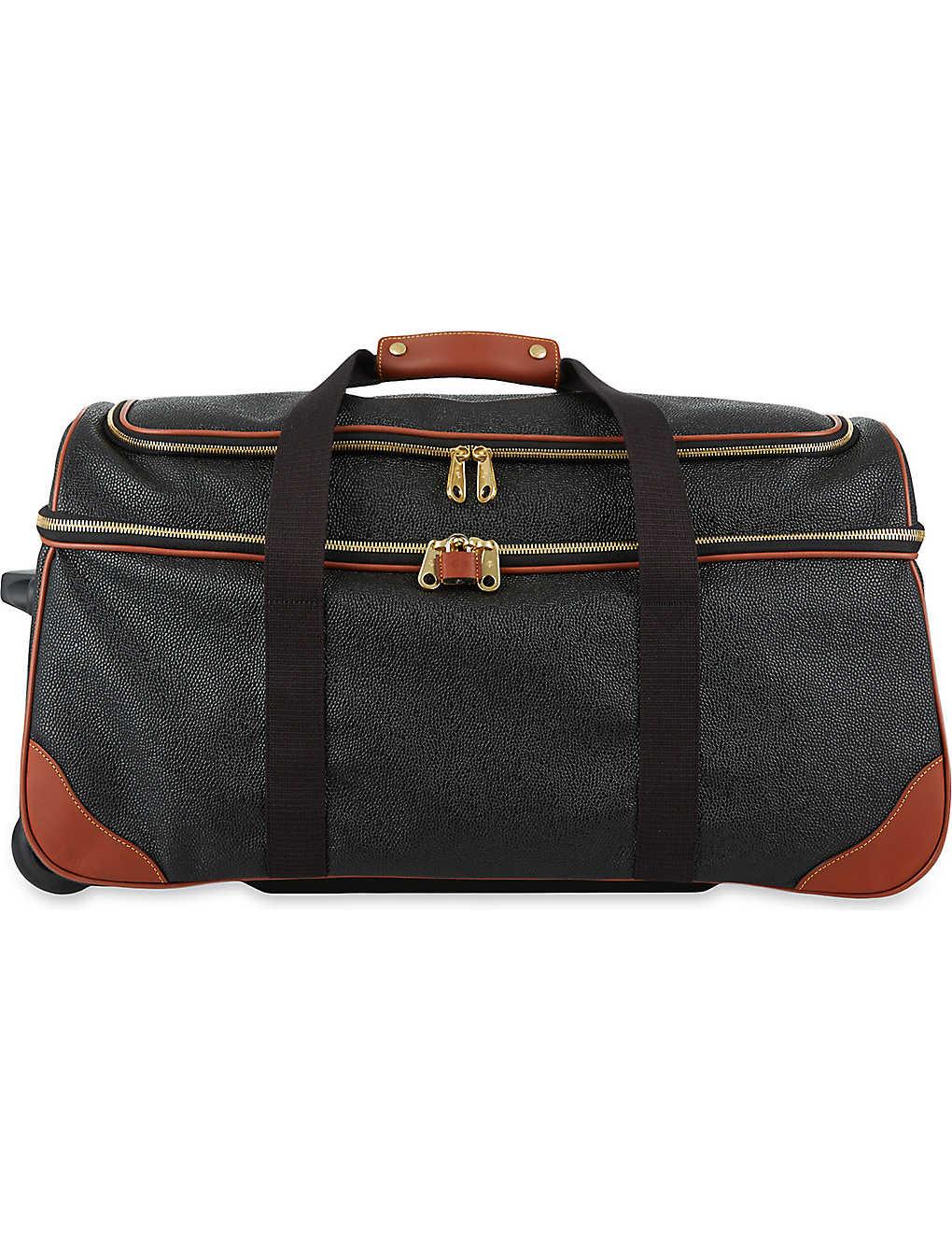4ce76aa1034 MULBERRY - Albany Scotchgrain two-wheel duffle bag | Selfridges.com