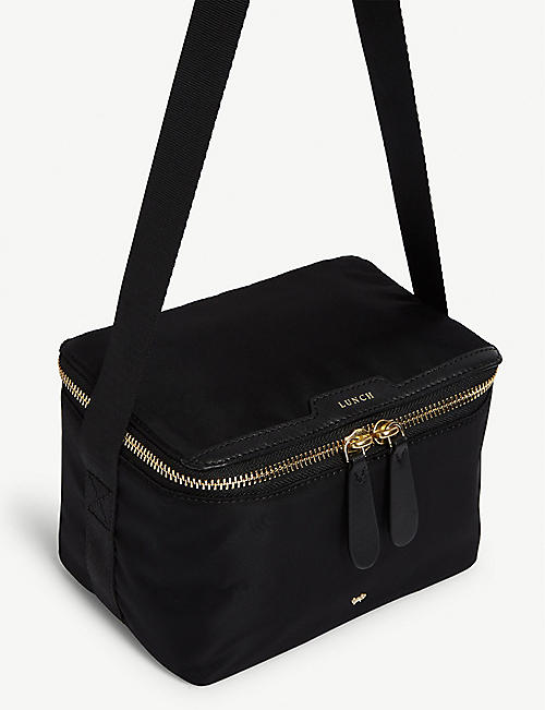 ANYA HINDMARCH Leather-trimmed nylon lunch bag