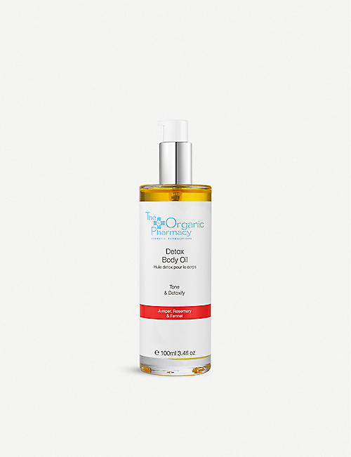 THE ORGANIC PHARMACY Detox Cellulite Body Oil 100ml