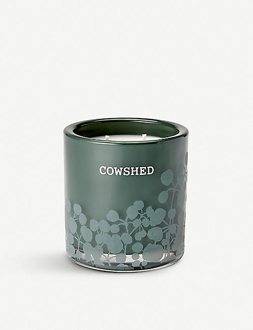 COWSHED Limited Edition 20th Anniversary candle 400g