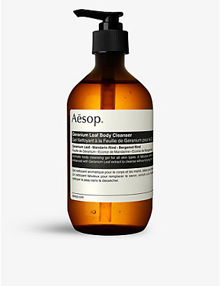 AESOP: Geranium Leaf body cleanser 500ml
