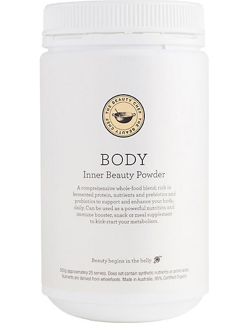 THE BEAUTY CHEF: Body Inner Beauty Powder - Vanilla 500g
