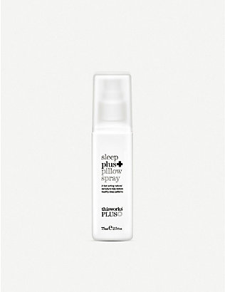 THIS WORKS: Sleep plus travel pillow spray 75ml