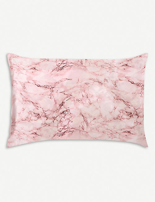 SLIP Queen marbled pillowcase 51cm x 76cm