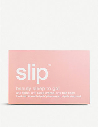 SLIP: Beauty Sleep To Go! travel set