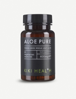 KIKI HEALTH Aloe Pure VegiCaps 20 x 600mg