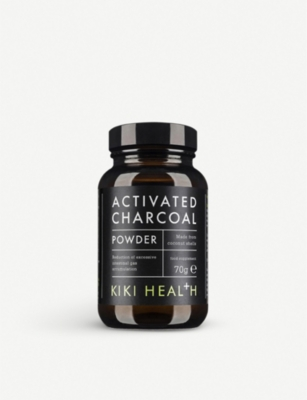 KIKI HEALTH Activated charcoal powder 70g