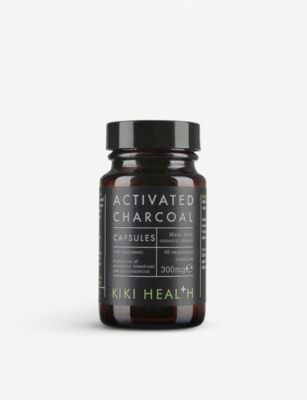 KIKI HEALTH Activated charcoal capsules 70g