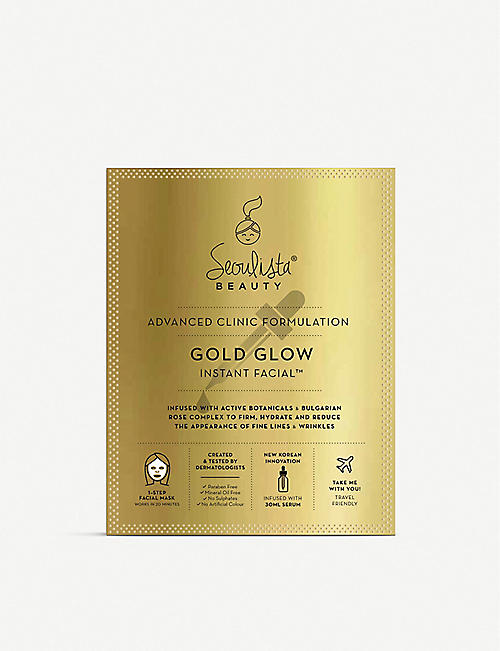 SEOULISTA: Gold Glow Instant Facial