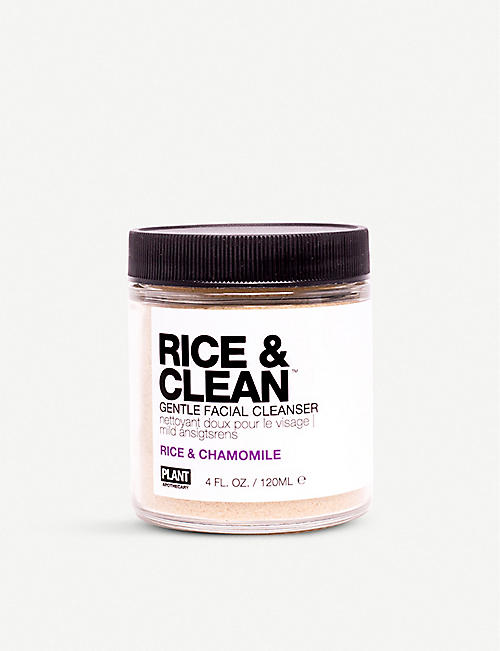 PLANT APOTHECARY: Rice & Clean gentle facial cleanser 120ml