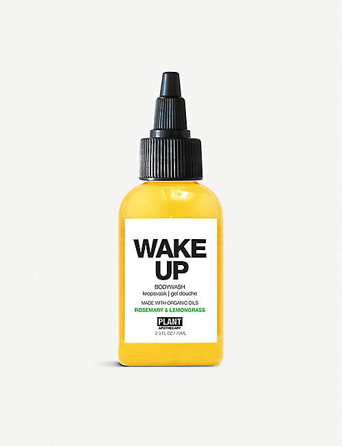 PLANT APOTHECARY: Wake Up travel body wash 70ml