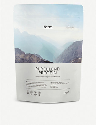 FORM: Pureblend Protein powder unflavoured 520g