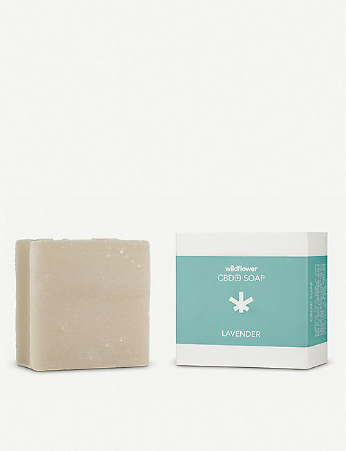 WILDFLOWER: CBD+ Lavender Soap
