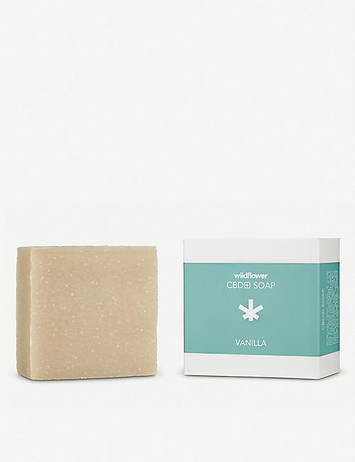 WILDFLOWER: CBD+ Vanilla Soap
