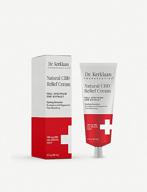 DR. KERKLAAN THERAPEUTICS Natural CBD Relief Cream 59ml
