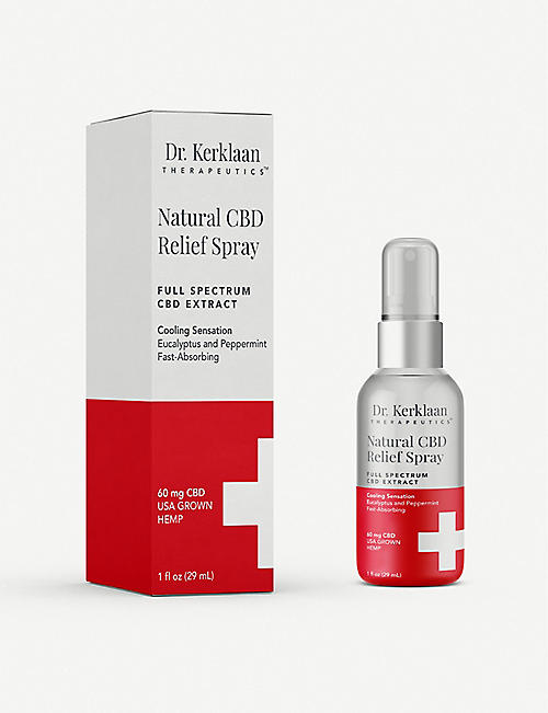 DR. KERKLAAN THERAPEUTICS CBD Relief Spray 29ml