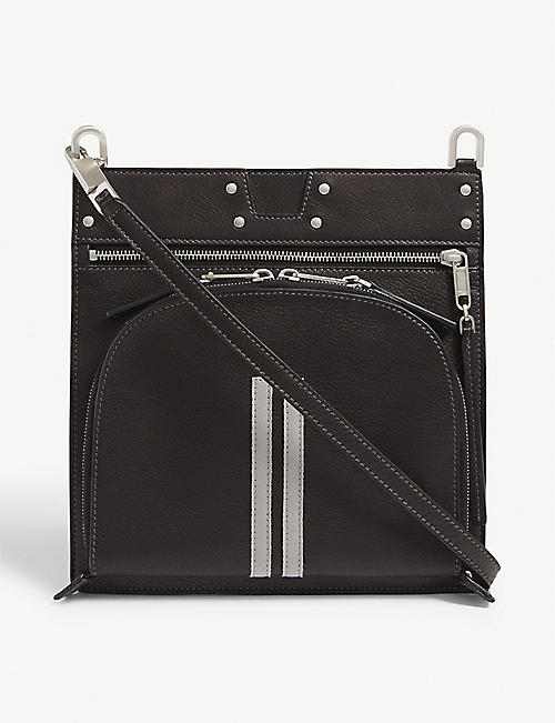 RICK OWENS Moon Pocket leather cross-body bag