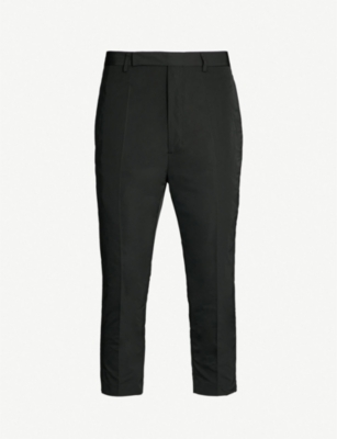 RICK OWENS Astaires relaxed-fit dropped-crotch shell trousers