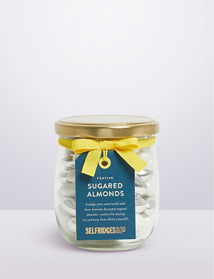 SELFRIDGES SELECTION Festive sugared almonds 337g