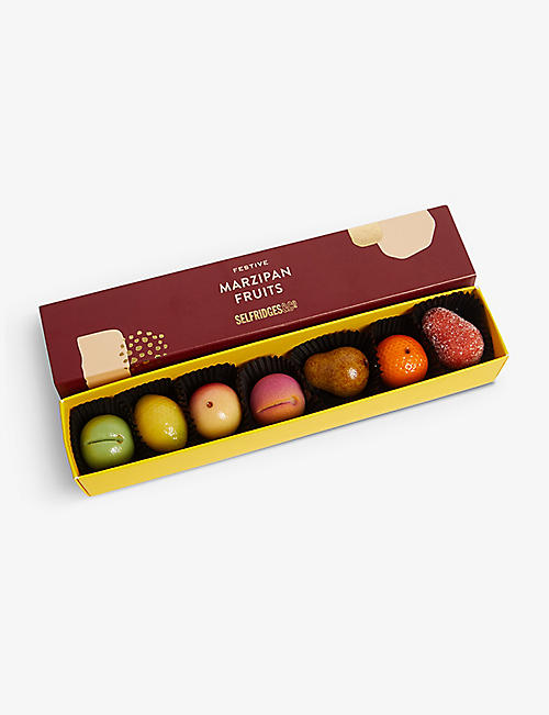 SELFRIDGES SELECTION Festive Marzipan Fruits 75g